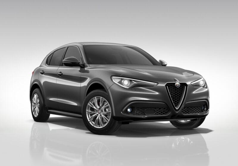 ALFA ROMEO Stelvio 2.2 Turbodiesel 180 CV AT8 Q4 Executive Grigio Vesuvio Km 0 SK0B5KS-46486_esterno_lato_1