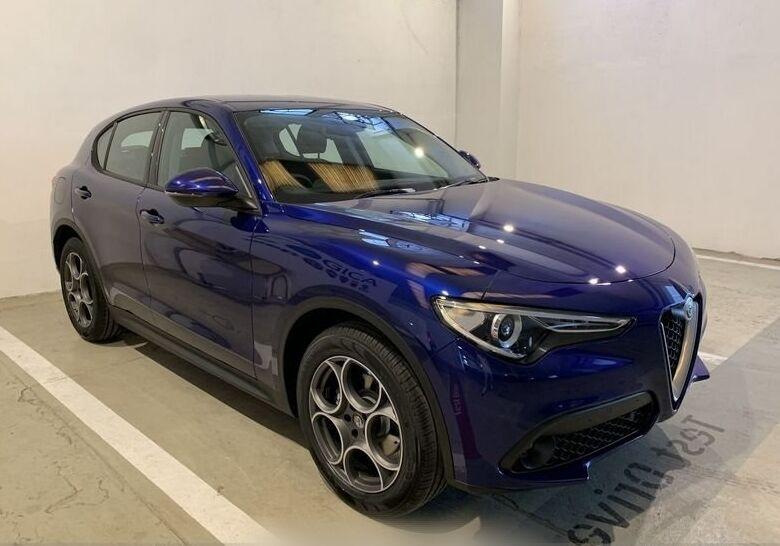 ALFA ROMEO Stelvio 2.2 Turbodiesel 190 CV AT8 Q4 Business Blu Anodizzato Km 0 N40CC4N-1-v2