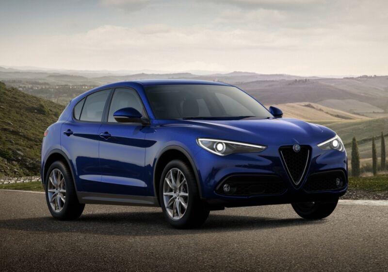 ALFA ROMEO Stelvio 2.2 Turbodiesel 190 CV AT8 RWD Executive Blu Anodizzato Km 0 3Q0BPQ3-51846_esterno_lato_1