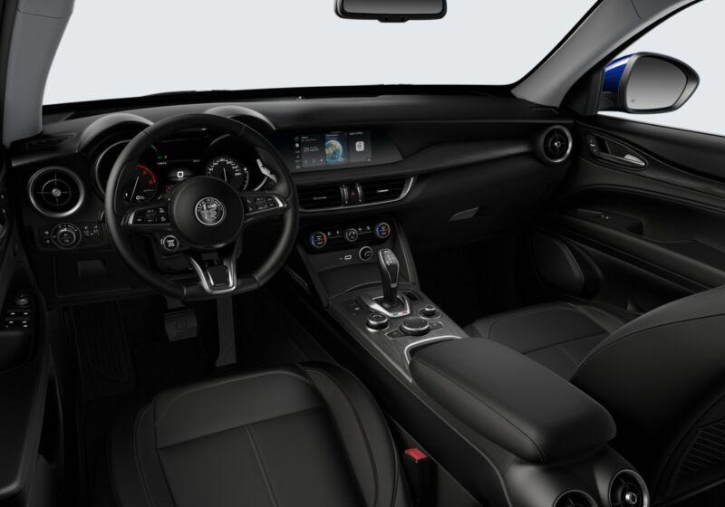 ALFA ROMEO Stelvio 2.2 Turbodiesel 190 CV AT8 RWD Executive Blu Anodizzato Km 0 3Q0BPQ3-51846_interno_lato_5