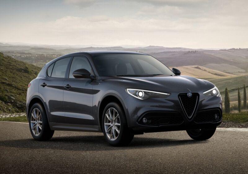 ALFA ROMEO Stelvio 2.2 Turbodiesel 190 CV AT8 RWD Executive Grigio Vesuvio Km 0 440C244-68938_esterno_lato_1
