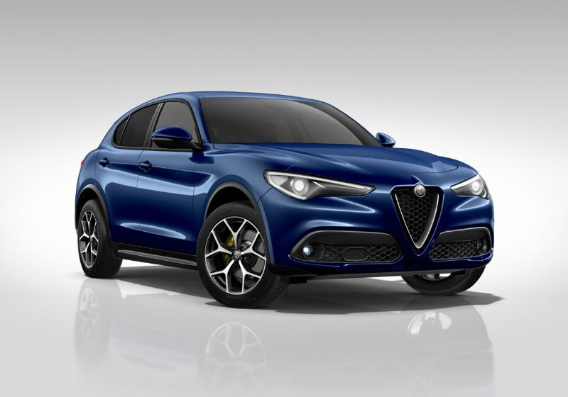 ALFA ROMEO Stelvio 2.2 Turbodiesel 210 CV AT8 Q4 Executive Blu Montecarlo Km 0 0000WAO-a