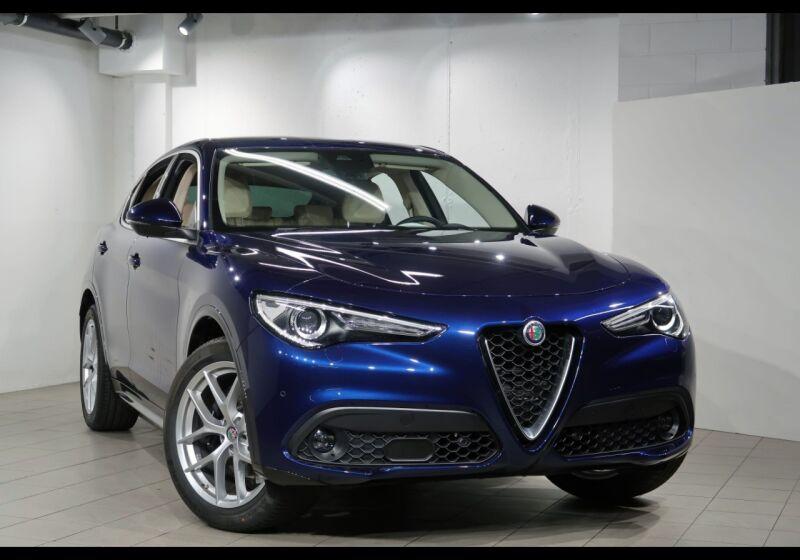 ALFA ROMEO Stelvio 2.2 Turbodiesel 210 CV AT8 Q4 Ti Blu Montecarlo Km 0 5T0CFT5-0a