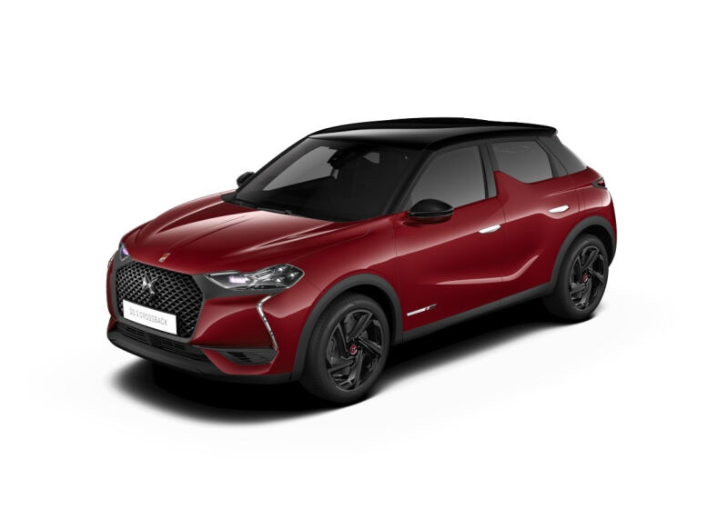 DS 3 Crossback BlueHDi 100 Performance Line Rosso Rubino Km 0 F80BS8F-a-v1